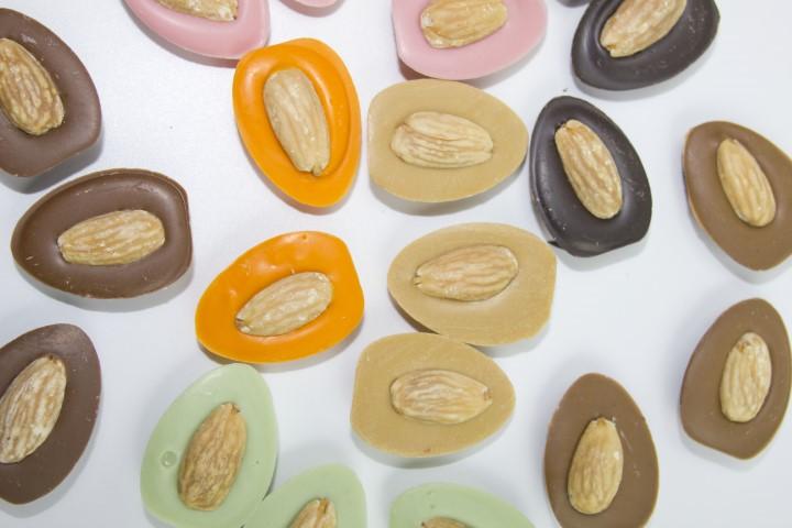 Amêndoas de chocolate Callebaut®